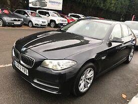 BMW 5 SERIES 2.0 520D SE 4dr AUTO 181 BHP (grey) 2013