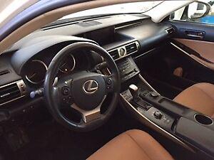 2014 Lexus IS 350C Tan Sedan