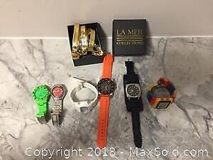 7 Watches All But 1 Need Batteries