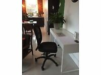 Two Ikea office chairs