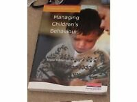 Managing childrens behaviour