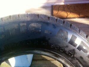 Tire Winter Alpine  Michelin 195 70 R14text ph 9028770171