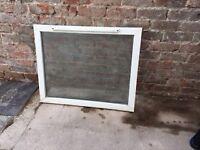 UPVC Used Double Glazed Window with slotvent