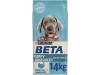 BETA Puppy Large Breed Dry Dog Food Turkey 14 kg