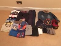 Large selection of boys clothes - Age 4-5 years, good condition