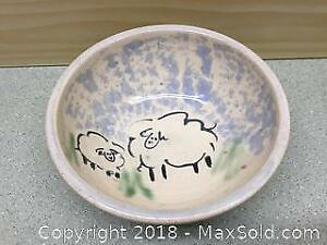 Artisan Sheep Bowl A