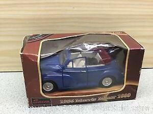 1965 Morris Minor Die Cast Car NIB A
