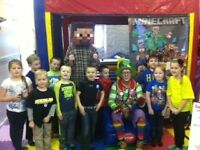 Minecraft Themed Fun Kids Party