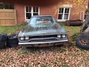 1970 Plymouth Sport Satellite $8000.00 or partial trade for bike