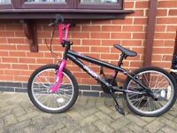 BMX IN PINK/BLACK FOR GIRLS