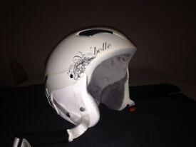Ladies bolle ski helmet