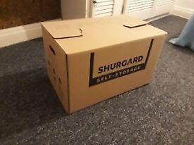 Shurgard storage boxes