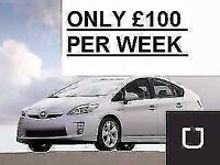 *£100 PER WEEK*PCO Cars Rent or Hire TOYOTA PRIUS Uber/PCO Ready From