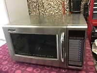 Stainless steel Catering microwave 1200watts