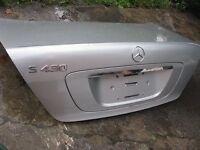 Valise Mercedes Benz S430 s500 01-06 plusieurs pièces