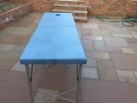 Massage & beauty portable table / bed. Great condition and light weight