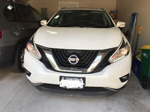 2015 Nissan Murano SL 4DR AWD- Lease take over/ 32,500 km - $594