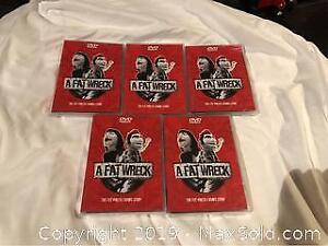 5 A Fat Wreck DVDs