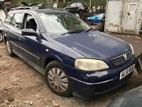 Vauxhall Astra Ls Dti 1.7 Diesel In Blue 2001 (Breaking for Parts And Spares)
