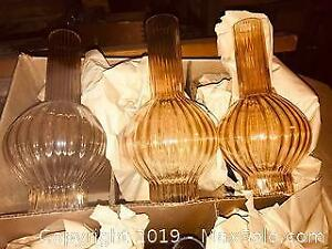 Vintage New Old Stock Glass Light Shade