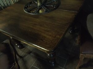 Solid Wood Antique Farm Table