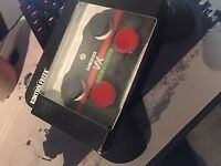 Xbox one controller with two kontrol freeks,