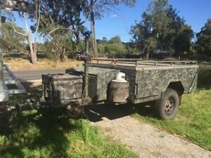 Custom rear fold off road camper trailer Bayswater Knox Area Preview