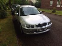 Rover 25 1.4 16v for sale. Runs and drives everything works. MOT failure on exhaust and brake pipe.