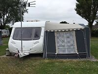 Sterling Europa 545, 4 berth (2010) with Isabella Ambassador awning (2010)