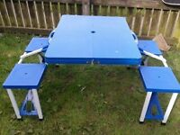 Childrens Picnic Table, seats 4 very sturdy.
