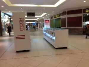 Run your own business in a busy mall