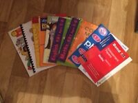 Selection of 10 text books for 5-7 year olds