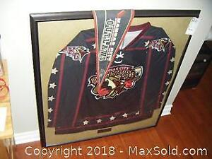 Outlaws Framed Inaugural Jersey A