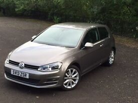 VW Golf 2013 2.0 GT TDi. Full service history. High spec. Immaculate condition.