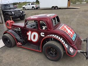 Legends Race Car and Trailer Package