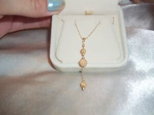 10k gold beautiful necklace