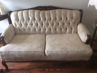 French Provincial Loveseat & 2 Chairs---DO NOT TEXT!!!!