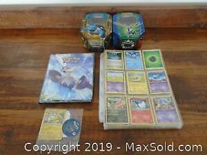 Assort Pokemon Collectible Trading Cards and more