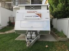 Concept, Ascot Semi Off Road Caravan Excellent Condition Belmont Lake Macquarie Area Preview