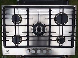 Electrolux 5 burner gas hob