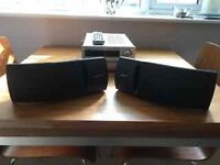 Bose 161 bookshelf speakers x2, black excellent condition