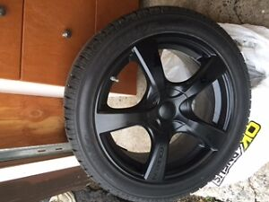 Selling 4 winter tires on rims size 18 inch