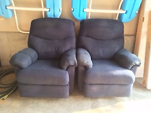 Two Recliners from Elran &50 ea - good for cottage
