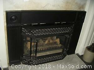 Gas Fire Place C