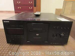 Sony DVD Player A