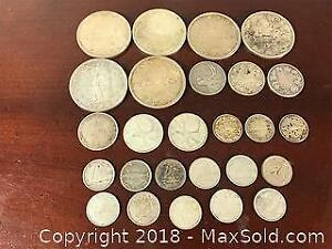 Old Silver Canadian Coins