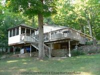 AFFORDABLE COTTAGE LIFE on DICKEY LAKE!