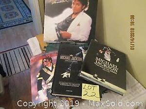 Michael Jackson collection. Album and Books