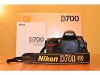 Nikon D700 Body Boxed