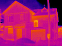 Thermal Imaging of your house before or after repair from $99